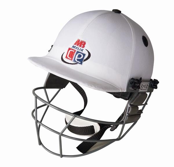 White Revolution Cricket Helmet By Cricket Equipment Usa
