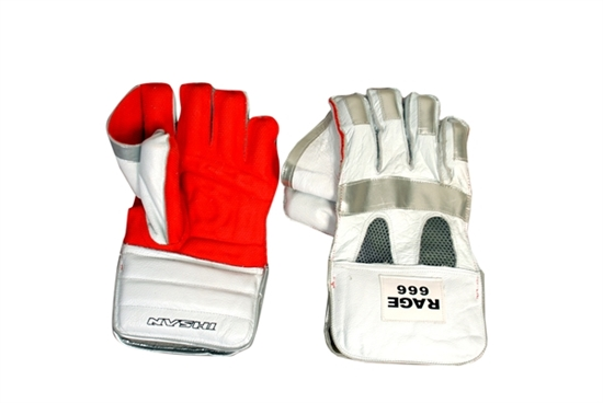 Picture of IS Cricket Wicket Keeping Gloves RAGE 666 By Ihsan