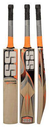 Picture of SS Super Power Cricket Bat Kashmir Willow by Sunridges