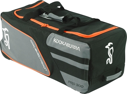 Picture of Pro 300 Cricket Wheelie Bag Slate/Black By Kookaburra 2016