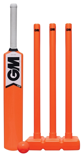 Picture of ICON ALL WEATHER Plastic Moulded Cricket Set by Gunn & Moore