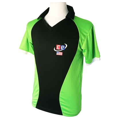 Picture of Colored Cricket Uniform Pakistan Colors Shirt  by Cricket Equipment USA