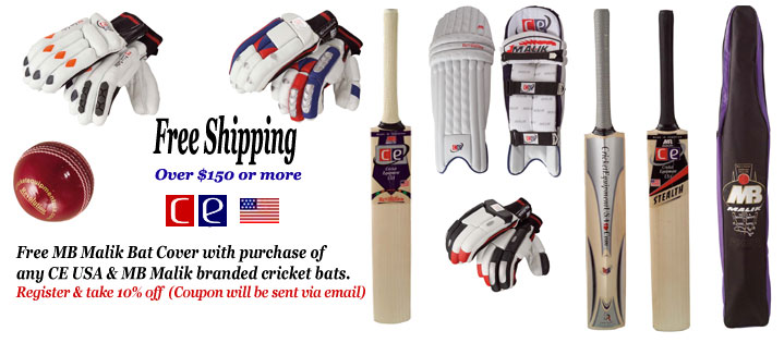 Cricket Bats from Cricket Equipment USA - The First Brand Created for the cricketers in USA