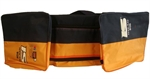 Picture of Cricket Gear Carrying Kit Bag 909 by Ihsan (Orange and Black)