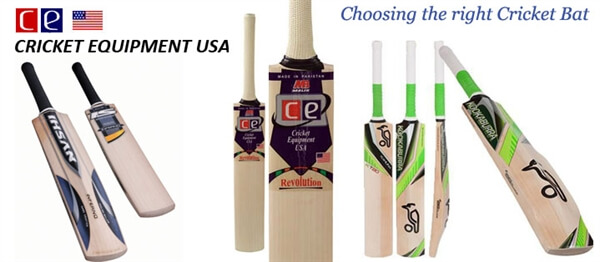 Choosing a Right Cricket Bat
