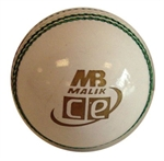 Picture of White T20 Daisy Cutter leather cricket ball by Cricket Equipment USA