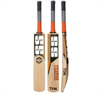 Picture of SS Ton Orange English Willow Cricket Bat by Sunridges