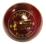 Picture of MACH 7 Red leather cricket ball by Ihsan