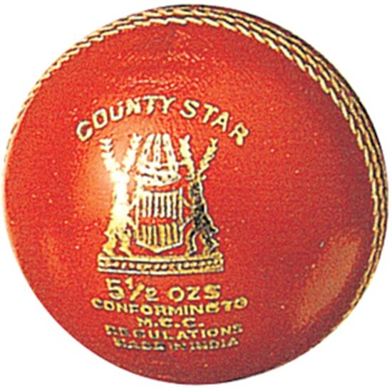 Picture of County Star cricket ball by Gunn & Moore