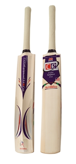 Picture of Cricket Bat English Willow Revolution by Cricket Equipment USA