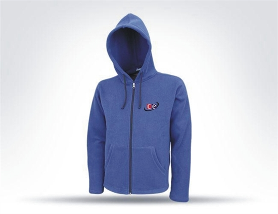 Picture of Cricket Blue Hoodie Sweat Shirt Model T-1550T By Cricket Equipment USA
