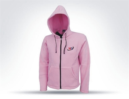 Picture of Pink Hoodie Sweat Shirt Model T-1551T By Cricket Equipment USA