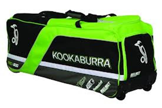Picture Of Cricket Kit Bag Wheelie Pro 600 By Kookaburra
