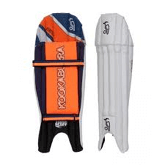Picture of Wicket Keeping Leg Guards 650 By Kookaburra