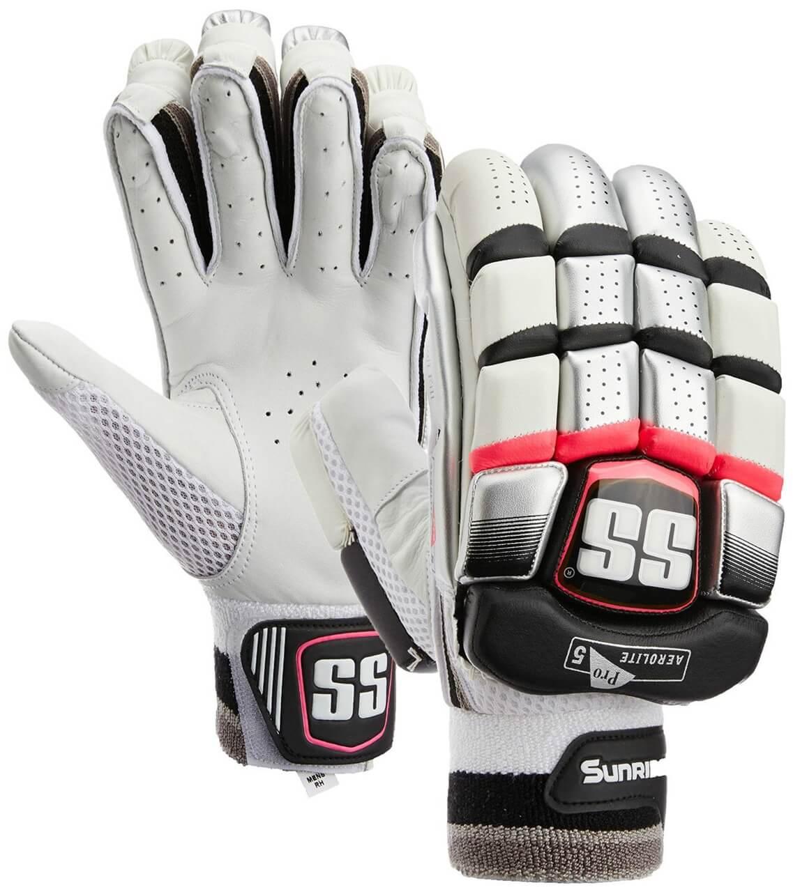 SS Cricket Batting Gloves Aerolite Pro 5 By Sunridges