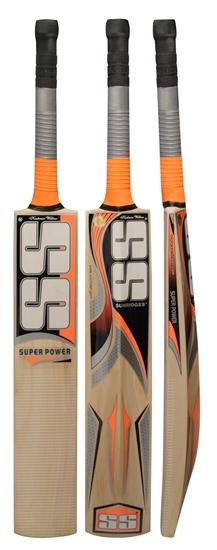 Picture of SS Super Power Cricket Bat Kashmir Willow by Sunridges
