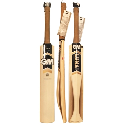 Picture of Cricket Bat English Willow Junior Size BAT LUNA DXM 606 TT NOW By Gunn & Moore - Size 5