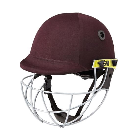 Icon Geo Blue Senior Batsman Cricket Helmet