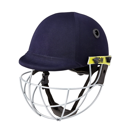 Picture of Cricket Batting Helmet - Icon Geo Helmet For Head & Face Protection (Navy, Senior)