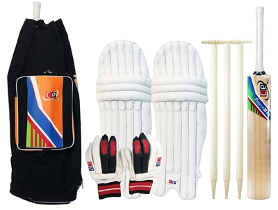 Picture of Cricket Set Kashmir Willow Power Max Size 6 By Cricket Equipment USA