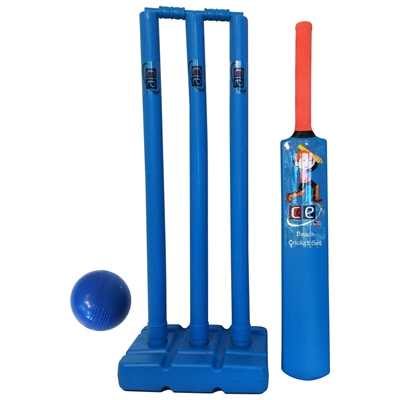 Picture of Beach Cricket Gift Set For Kids Molded Plastic Water Proof By Cricket Equipment USA