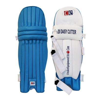 Blue Batting Legguards