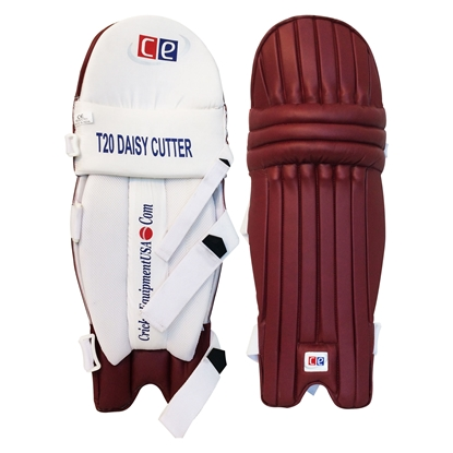 Maroon Batting Pads West Indies Colors