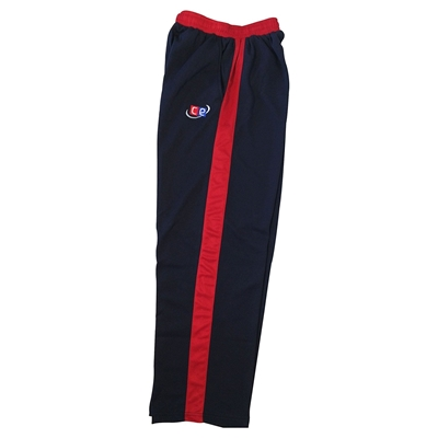 Picture of Colored Cricket Pants - England Colors Navy & Red