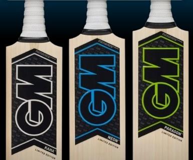 Cricket Bats Blades Lengths For GM (Gunn & Moore) Bats