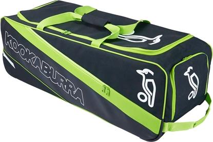 Picture of Cricket Kit Bag Wheelie Pro 2000 Colors Lime/Black by Kookaburra