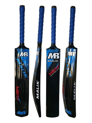 Heat Fiber Glass Cricket Bat By Malik