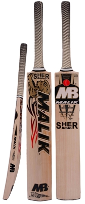 Sher Amin Malik Cricket Bat Short Handle