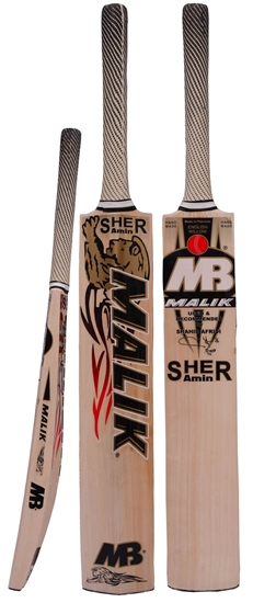 2278dd3da60 Cricket Bat Premium English Willow SHER AMIN By Malik