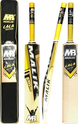 Shahid Afridi with MB Malik Lala Edition Cricket bat
