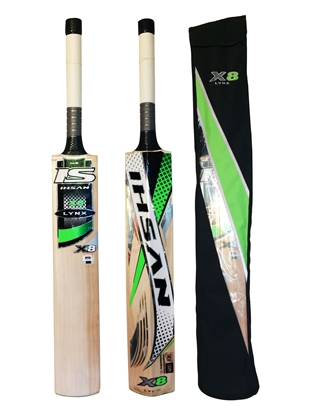 Picture of Cricket Bat English Willow Lynx X8 by Ihsan