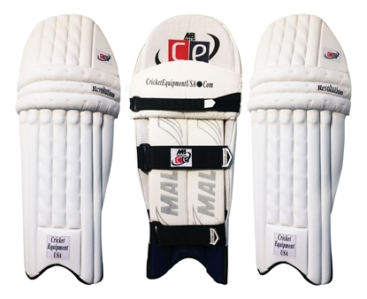 Picture of Cricket Batting Pads Revolution Ambidextrous by Cricket Equipment USA