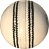 Turf White Leather Cricket Ball