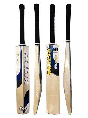 Picture of Blaze Cricket Bat Made From Poplar Wood Tennis Ball Bat Medium Weight Blue Short Handle