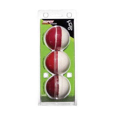 Picture of Cricket Red White Training Balls Pack By Kookaburra