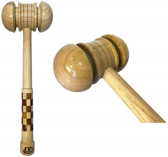 Picture of CE Wooden Cricket Bat Mallet for Knocking & Preparing New Cricket Bat by Cricket Equipment USA