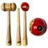 Picture of CE Cricket Bat Wooden Knocking Hammer Griping Cone Ball Mallet 3 in 1