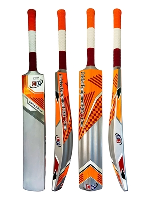 Picture of CE Quick Silver Fiber Glass Composite Light Weight 2 LBS Pounds Water Proof Cricket Bat Full Size Short Handle